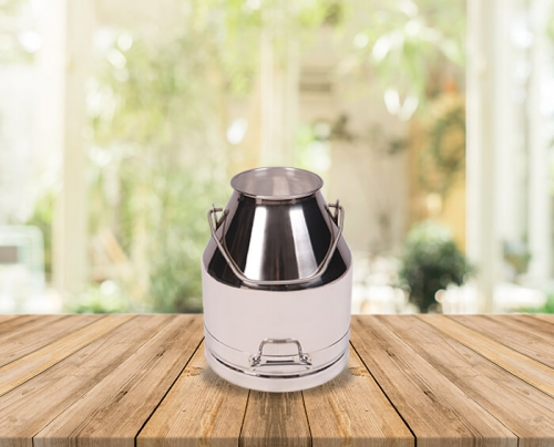 30 Lts Stainless Steel Can/Bucket (Suitable for Milking Machines)