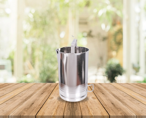 20 Lts Stainless Steel Milk Measuring Bucket