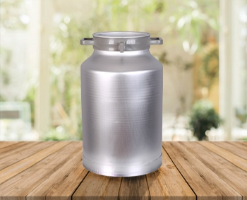 40 Lts Aluminium Can(Suitable for Milking Machines)